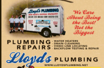 Lloyd's Plumbing Ad