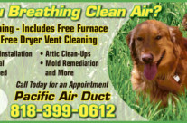 Pacific Air Duct Ad